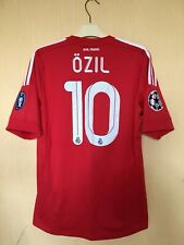 FC REAL MADRID 201112 CHAMPIONS LEAGUE FOOTBALL JERSEY CAMISETA SHIRT #10 OZIL