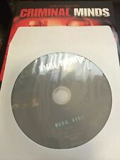 Criminal Minds - Season 3, Disc 5 REPLACEMENT DISC (not full season)