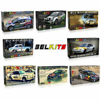 BELKITS 1:24 Rally WRC Car Model Kits with Photo Etched Parts - Choose