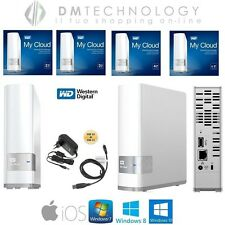 "HARD DISK ESTERNO WESTERN DIGITAL USB 3.0 MY CLOUD 2,5"" 2TB-3TB-4TB-6TB USB 3.0"