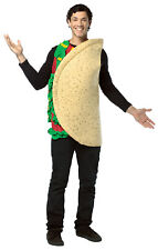 Adult Taco Shell With Lettuce Tomato Festival Foodie Halloween Costume Gc311