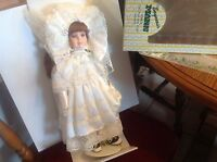 Seymour Mann Vintage Victorian Bridal Doll, in box with certificate