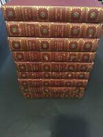 VINTAGE RUDYARD KIPLING'S WORK-Swastika Edition Set, Volumes 1-9 NICE!
