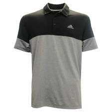 Adidas Golf Men's Ultimate 2.0 All Day Polo Shirt,  Small Blk/Gry