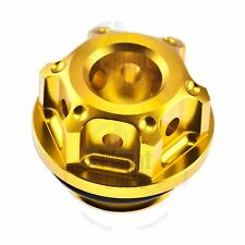Gold GP Engine Oil Filler Cap Honda CB CBR 600R 1000 RR 900 954 929 F2 F4I F4