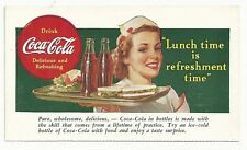 1930's Coca-Cola Coupon Top - Waitress