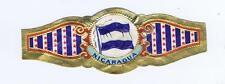 Nicaragua Flags of the  World cigar band vitolas Bauchbinden Sigarenbandje 50