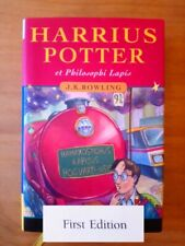 1ST EDITION HARRY POTTER AND THE PHILOSOPHER'S STONE (LATIN). J K ROWLING FIRST