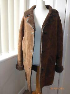 Nurseys ladies sheepskin coat size 18