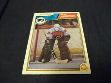1983-84 OPC O-Pee-Chee #268 Pelle Lindbergh Rookie Flyers - ex+ - centered