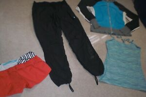 Lot of Lululemon Dance Studio Pants, Rare Speed Shorts, Hoodie and Tank sz 8