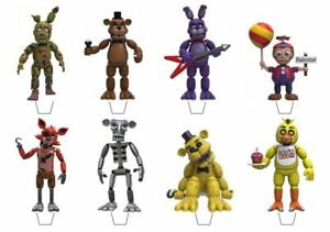 Five Nights at Freddy's Edible Wafer Cup Cake Toppers Standing or Disc FNAF