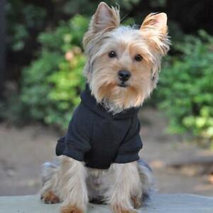Doggie Design Black Flex-Fit Dog Hoodie    XS-4XL