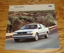 Original 1989 Ford Tempo Sales Brochure 89