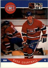 1990-91 PRO SET HOCKEY RUSS COURTNALL CARD #149 MONTREAL CANADIENS NMT/MT-MINT