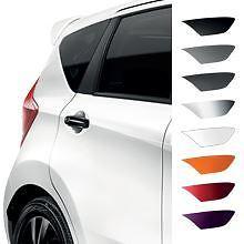 Genuine Nissan Micra 08/13 > Cubre Manija de la puerta trasera-Negro piano (KE6051K053BK)