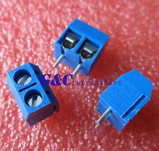 20PCS KF301-2P 2-Pin Plug-in Terminal Block Connector 5.08mm Pitch J2