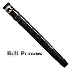 Winn Excel Medallist Midsize Black Pistol Putter Grip-Mens/Men's-Select Quantity