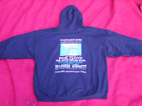 Pink Floyd Knebworth 1975  Floyd crew zip up hooded jacket