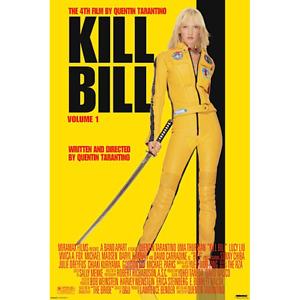 """Kill Bill Vol. 1 – Movie Poster – Uma Thurman Tarantino – 91 x 61 cm 36"""" x 24"""""""