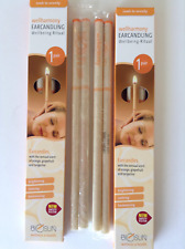 BIOSUN ORANGE GRAPEFRUIT TANGERINE EAR CANDLES Two Pairs - German Candling