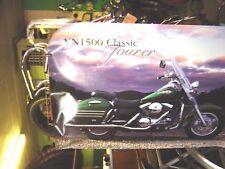 1  1998 Genuine Kawasaki Dealer Poster , VN1500 Classic Tourer