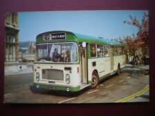 POSTCARD BUS TRAM BRISTOL OMNIBUS COMP 1970 BRISTOL RELL 6L SINGLE DECKER BUS