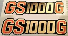 SUZUKI GS1000 GS1000G SIDE PANEL DECALS