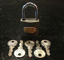 MAGIC ESP LOCK with 5 keys! GREAT MENTAL MAGIC EFFECT! Close up Magic