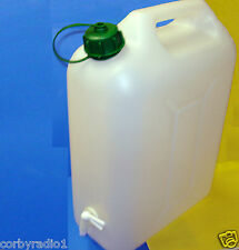 CAMPING CARAVAN TENT WATER CAN CONTAINER WITH TAP 10 LT