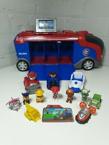 Paw Patrol Mission Cruiser With mini figure Pups And Mini Vehicles