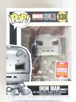 FUNKO POP VINYL | MARVEL SDCC 2018 COMIC CON | IRON MAN 338 with FREE PROTECTOR