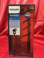 Christmas Projector for House Red Spotlight Philips BNIB