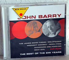 CD JOHN BARRY - The Best Of The EMI Years