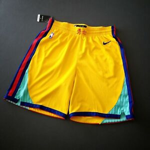 100% Authentic Nike Warriors The Bay City Chinese Shorts 2XL Mens