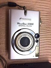 New Canon PowerShot Digital ELPH S500 / Digital IXUS 500 5.0MP Digital Camera
