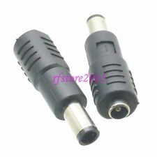 1pce Adapter Connector DC Power 7.4x5.0mm male to 5.5x2.1mm female for laptop