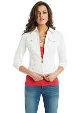 Guess By Marciano CROPPED DENIM JACKET