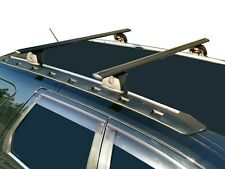 Alloy Roof Rack Cross Bar for Ford Territory 04-18 120cm Black Lockable