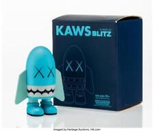 KAWS (AMERICAN, B. 1974) BLITZ (BLUE), 2004 PAINTED CAST VINYL 6 X ... Lot 11015