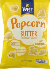 Wise Foods Air Popped Butter Popcorn 7 oz. Bag (6 Bags)