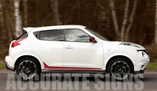 NISSAN JUKE LOWER GRAPHICS SET STICKERS STRIPES CAR DECALS NISMO