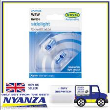 RW801 Blue Xenon Sidelight Bulb X 2 Ring Automotive Upgrade Pair 501 Car Van