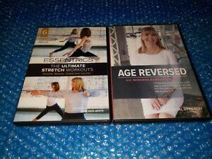 Essentrics Ultimate Stretch Workouts and Age Reversed Miranda Esmonde-White