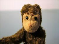Vintage Mini STEIFF Monkey Jocko whit  tag