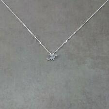 Dragon SILVER Plated Necklace Gift Box Daenerys Targaryen Mother Pokemon Flying