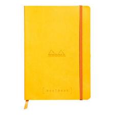 Rhodia Goalbook Journal - Yellow - Dot Grid - A5 Size - 5.75 x 8.25 Inch - NEW