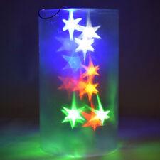 Lampada Olografica Natalizia Luce a LED a Batteria 25x15cm Decorazioni Natale