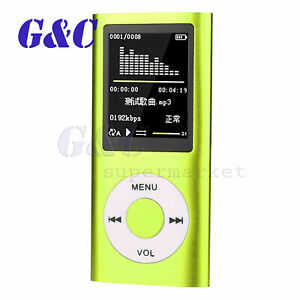 Ultra-thin 1.8″ LCD 32GB MP4 MP3 Music Media Video Player FM-Radio Recorder