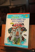 Fisher-Price Talk-To-Me Book Sesame Street The Count Welcome to My Castle 1979